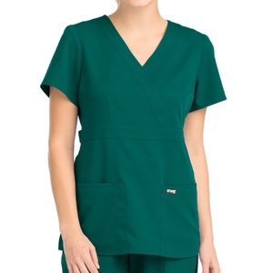 Grey's Anatomy Fitted Scrub Top